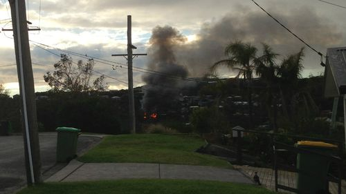 House destroyed in Central Coast bushfire