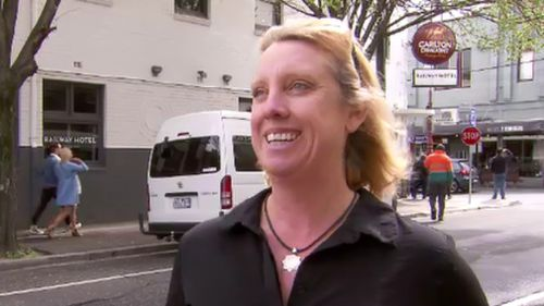 """Kerrie Goodall said she was """"shocked"""" to have her wallet returned four months after she lost it. (9NEWS)"""