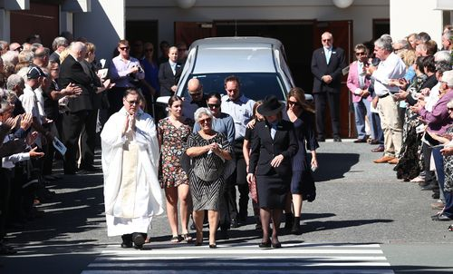 Tommy Raudonikis funeral