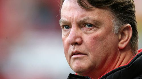 Dutch football manager Louis van Gaal. (AAP)