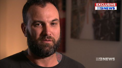 Mr Collis said he couldn't afford to pay the fine. (9NEWS)