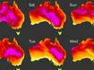 Australia set to swelter