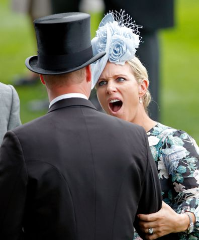 Kate Middleton, Prince William and Zara Phillips at Royal Ascot