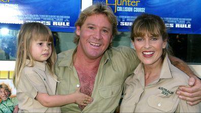 Bindi Irwin, Steve Irwin, and Terri Irwin