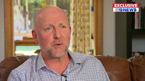 He's expected to make a full recovery, thanks to his age and good health. (9NEWS Exclusive)