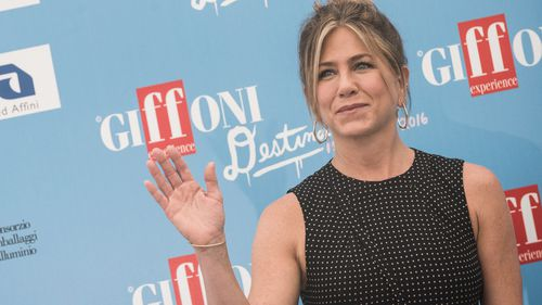 Jennifer Aniston reduced to tears during interview at Italian film festival