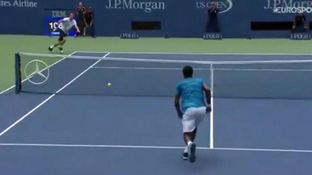 US Open: Monfils plays most pointless tweener in tennis history