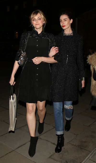 Sophie Dahl and Erin O'Connor