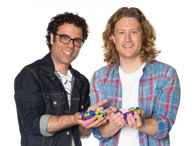 LEGO Masters Trent and Josh
