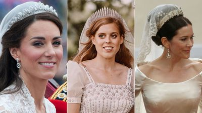 Royal wedding tiaras through the years