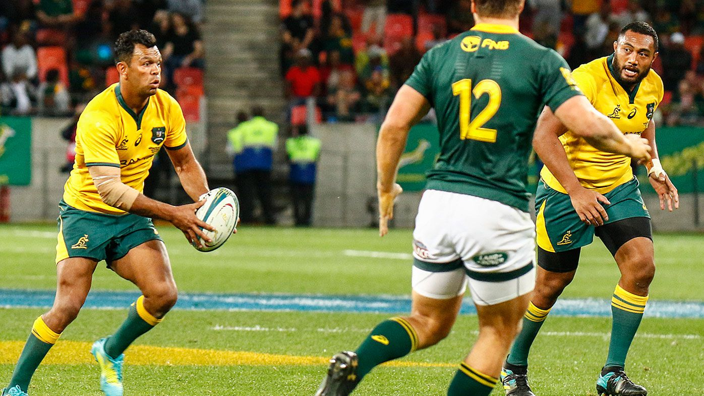 Wallabies defeated by Springboks as Kurtley Beale rues first minute brain-fade