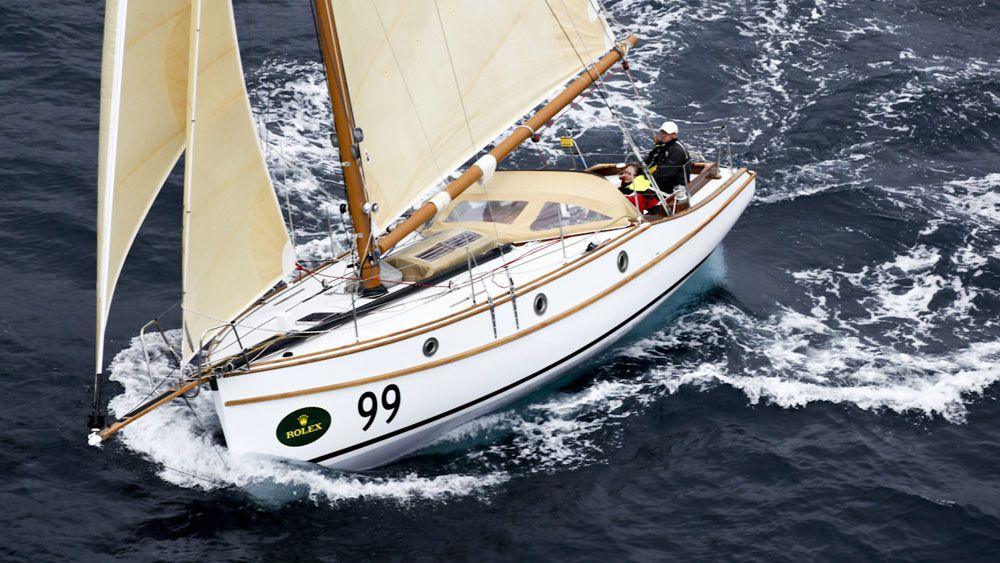 Maluka of Kermandie will be one of the last boats into Hobart. (AAP)
