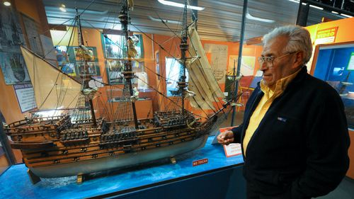 English warship to be raised after 252 years on ocean floor