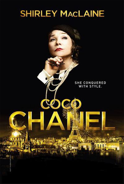 While this 2008 television movie also focused on Chanel's early life, screen veteran Shirley MacLaine played the designer in her later year's with the same irascible approach she employed as a rich Southern woman in Steel Magnolias.