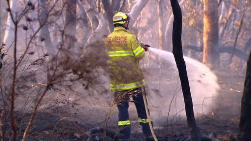 The dry September has caused an increase in bushfires.