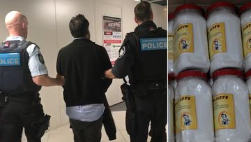 A Canadian man has been extradited to Melbourne and charged over a 730kg drug haul.