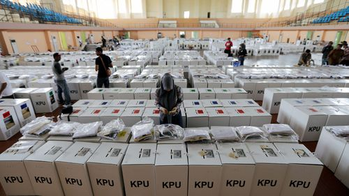 The world's third largest democracy is holding its legislative and presidential elections.