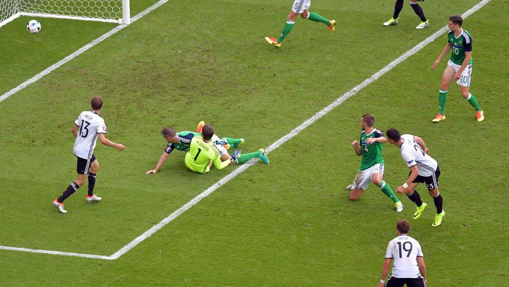 Germany beat N Ireland to advance at Euros