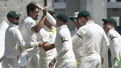 Aussies romp home against West Indies in first Caribbean Test