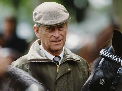 Prince Philip, Duke of Edinburgh at the Windsor Horse Show, UK, circa 1985.  (Photo by Tim Graham Photo Library via Getty Images)