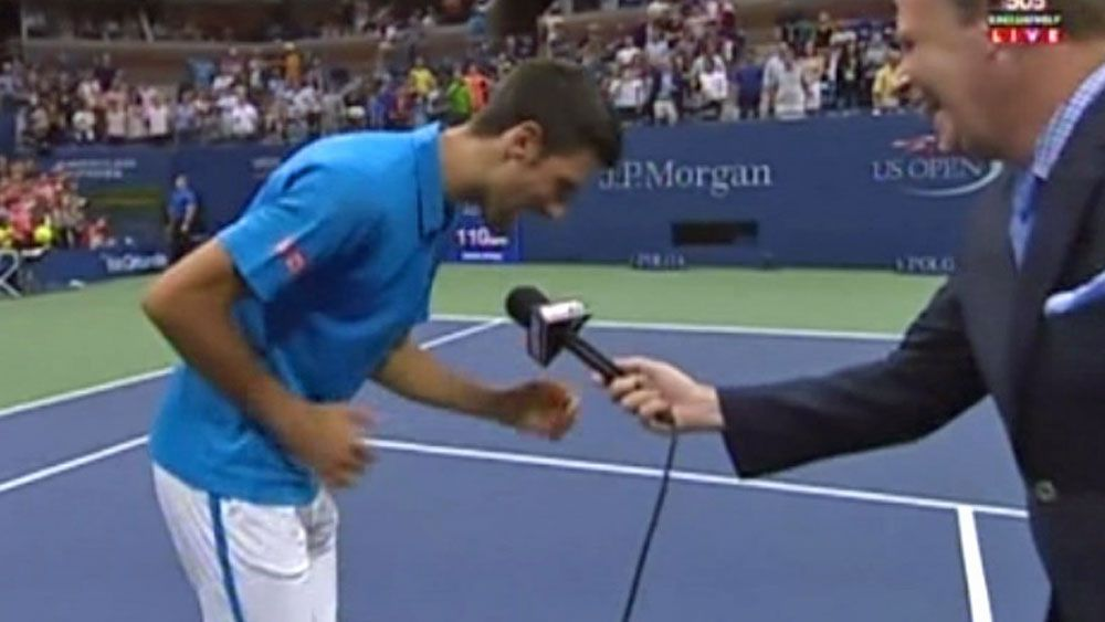 Tennis: Djokovic proves point with classic song