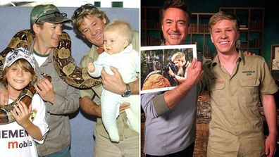 Robert Downey Jr and Bob Irwin reunite almost 16 years after they first met