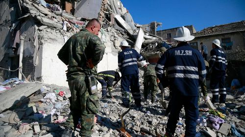 191126 Albania earthquake disaster emergency deaths world News