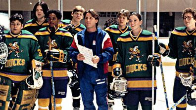 Emilio Estevez played Coach Gordon Bombay in the original Mighty Ducks franchise.