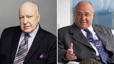 Russell Crowe plays Roger Ailes in The Loudest Voice
