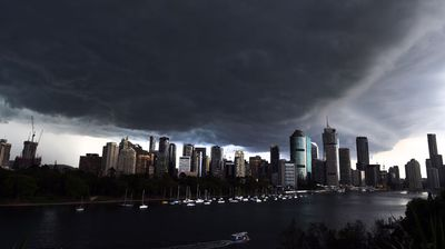 <p>Thousands are without power this morning after severe storms smashed Brisbane and Ipswich overnight.</p><p> There is gridlock on the roads and major delays to peak hour public transport services across the region.</p><p> Locals have been warned to brace themselves with further storms expected later tonight.</p><p> <i>All images AAP</i></p>