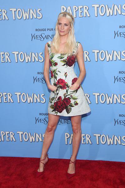 Poppy Delevingne in Dolce & Gabbana