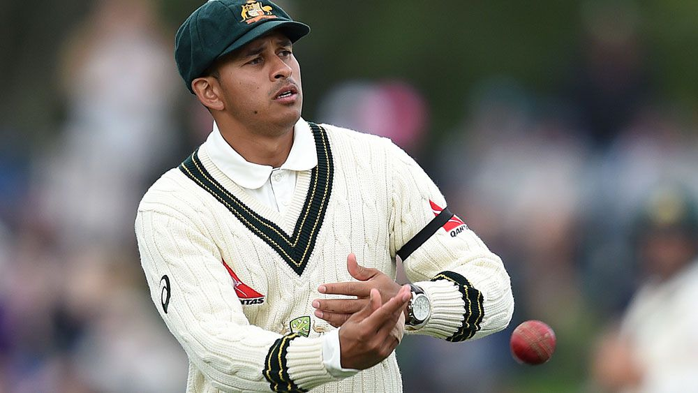 Usman Khawaja was dropped for the Third Test in Sri Lanka. (AAP)