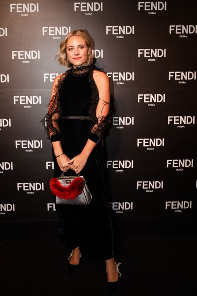 Deborah Symond O'Neil at the opening of Fendi's new boutique in Collins Street Melbourne