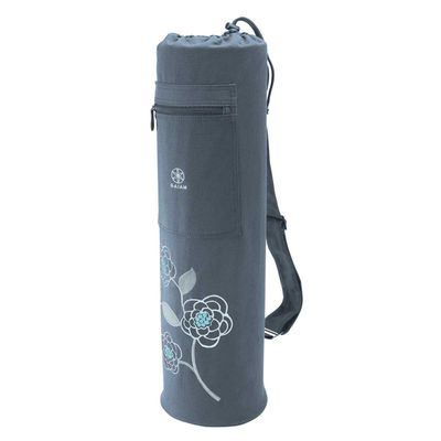<strong>Gaiam Premium Icy Blossom Yoga Mat and Bag - $29</strong>