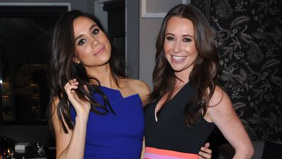 Meghan Markle and Jessica Mulroney in 2015