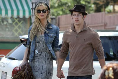 <p>Age gap: 8 years</p><p>Delta couldn't even wait for the umbilical cord to be cut. Nick Jonas was barely legal when he shacked up with <i>The Voice</i> judge after her break-up with Brian McFadden. </p><p>The relationship lasted 10 months, basically the same age as Nick was.</p>