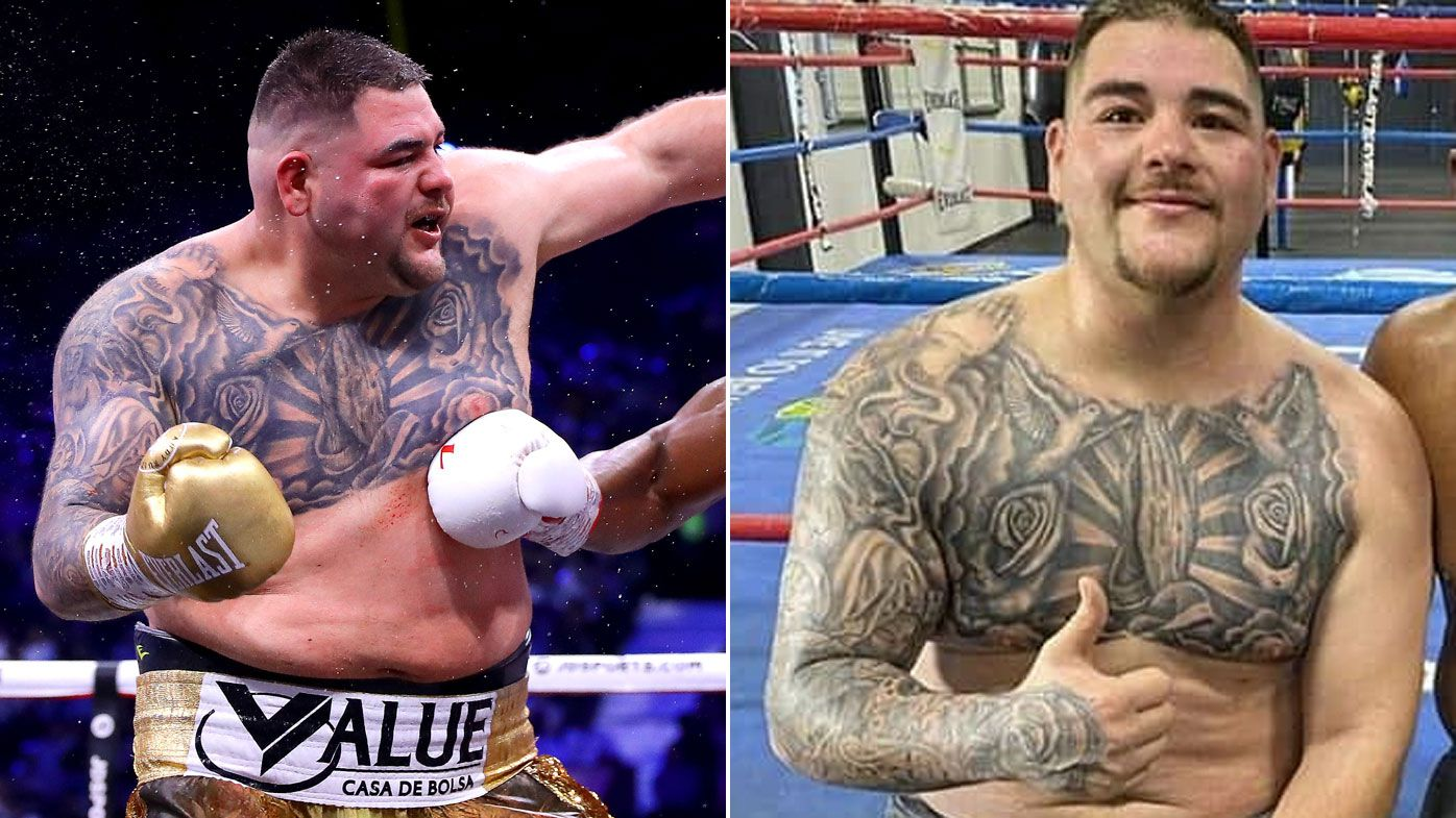 Andy Ruiz Jr eyeing another world title tilt after shedding nearly 30kgs ahead of return fight