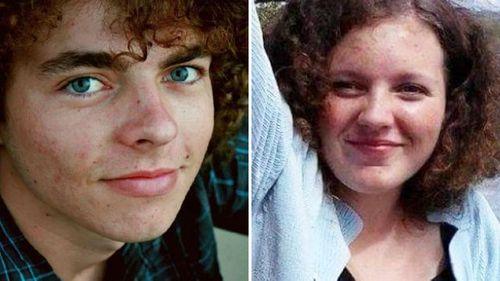 Brenden Bennetts and murdered schoolgirl Jayde Kendall.