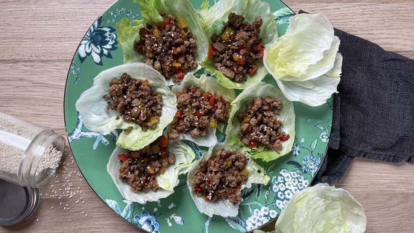 Easy 4 ingredient mince san choi bau