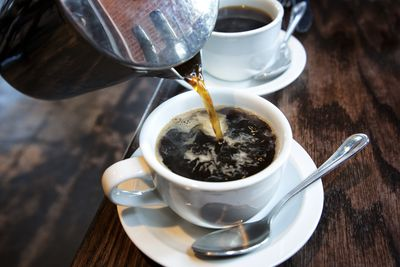 <strong>Black coffee</strong>
