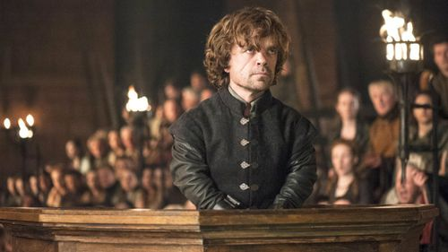 Dinklage stars as the scheming Tyrion Lannister on HBO's hit series Game of Thrones. (Supplied)