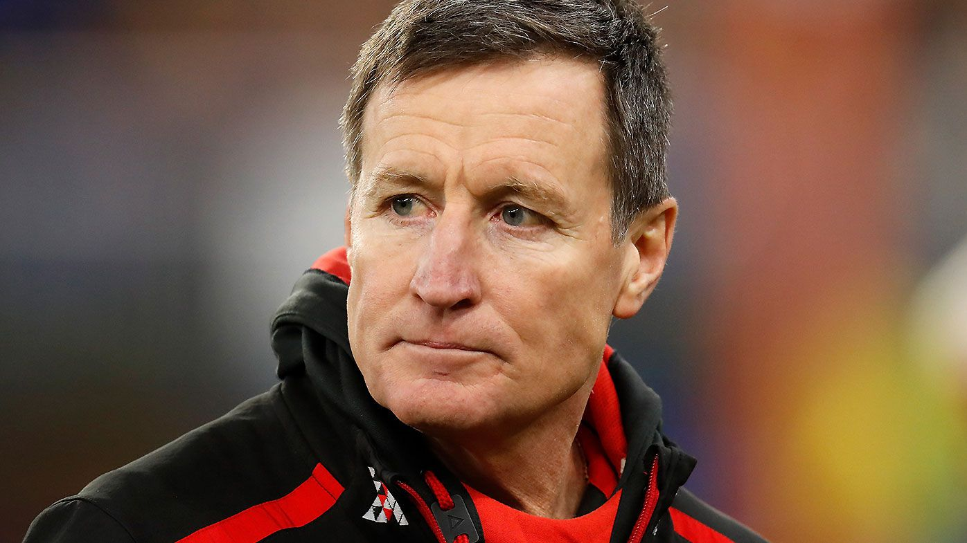 'The future will reveal the reality': John Worsfold's passionate final message to 'Essendon people'