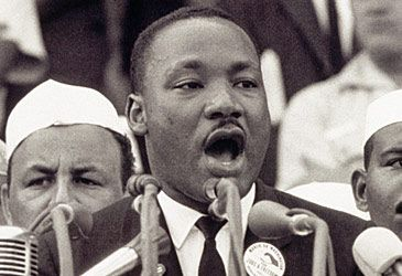 Daily Quiz: Where did Martin Luther King Jr orate 'I Have a Dream'?