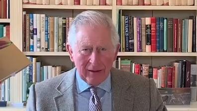 Prince Charles addresses the nation during the coronavirus crisis.