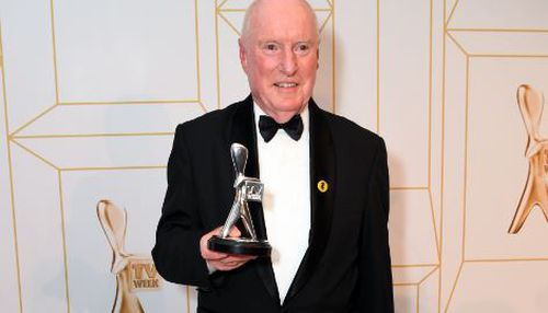 Ray Meagher won the Most Popular Actor Logie for his role as Alf Stewart on Channel 7's Home and Away. Image: AAP
