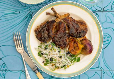 "Recipe:&nbsp;<a href=""http://kitchen.nine.com.au/2017/03/20/13/14/pohs-spiced-cumin-lamb-cutlets-with-coconut-mint-relish"" target=""_top"" draggable=""false"">Poh's spiced cumin lamb cutlets with coconut mint relish</a>"