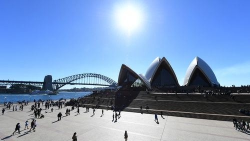 Australia's early spring weather has been marked by swift temperature shifts.