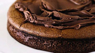 """Recipe:&nbsp;<a href=""""http://kitchen.nine.com.au/2016/05/16/11/49/onebowl-easy-chocolate-cake"""" target=""""_top"""">One-bowl easy chocolate cake</a>"""