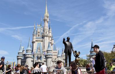 Magic Kingdom Park at Walt Disney World Resort in Orlando, Florida.