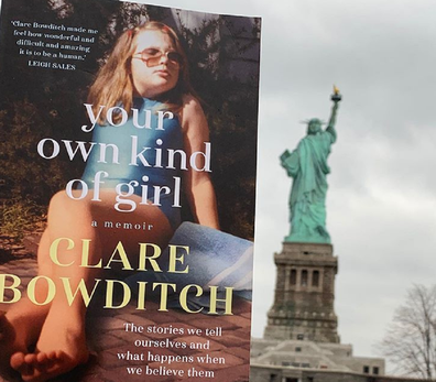 Her book 'Your Own Kind of Girl' chronicles her struggles in her early twenties.